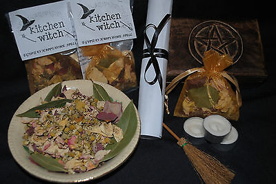 HAPPY HOME or WORK PLACE Spell Kit (Egyptian magicks) Cleansing Protection