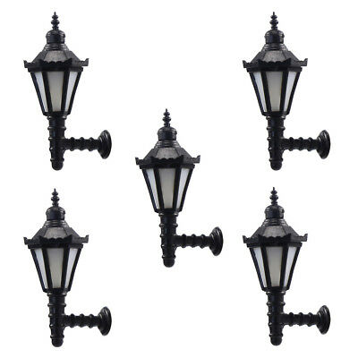 LBD01 5pcs Model Railway Led Lamppost Lamps Wall Lgihts G Scale 12V New