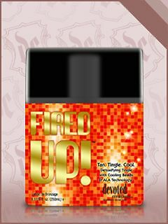 Fired up HOT TINGLE Accelerator Solarium Tan Tanning Lotion NEW 260ML CREAM