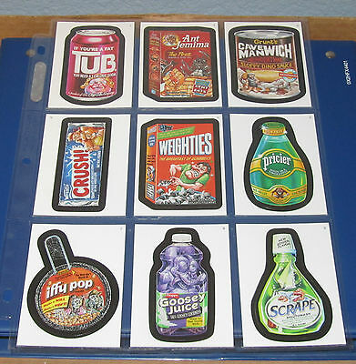 WACKY PACKAGES ANS5 SINGLES ( PICK ANY 3 ) GREAT PRICE