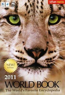 World Book 2011 - Encyclopedia Video Sound Clips Media Centre PC/MAC NEW