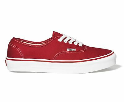 VANS - Authentic - Rot Red - Schuhe Sneaker - NEU - EE3RED - Gr.: 36 - 48