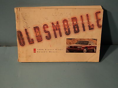 94 1994 Oldsmobile Eighty Eight owners manual