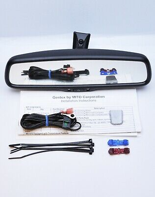 Gentex GEN K2 AUTO DIM DIMMING REAR VIEW MIRROR FOR ANY CAR AUDI FORD