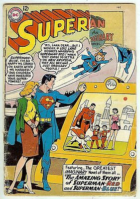 Superman #162 (1963) cover piece out - a reading copy