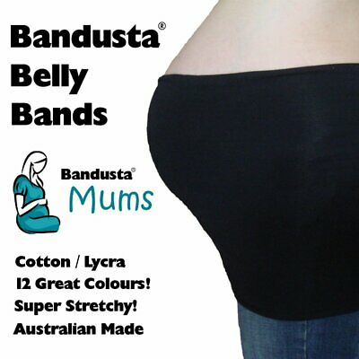 NEW Bandusta® Belly Bands Tummy Tubes Band Tube FREE POST! 12 Colours Available!