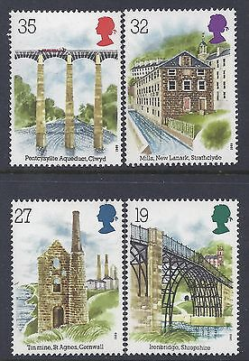 1989 Gb Industrial Archaeology Fine Mint Set Of 4 Muh/mnh Sg1440-Sg1443