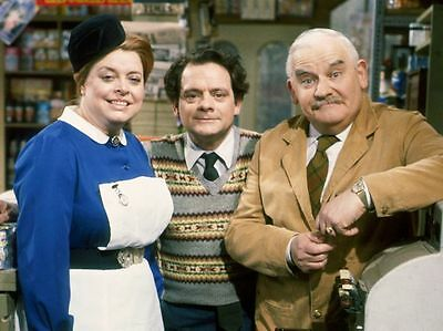 Open All Hours Ronnie Baker David Jason 10x8 Photo