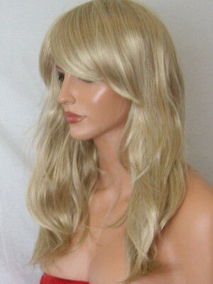 Sandy Blonde Wig Fashion medium natural wig party Lady cheap Ladies Wig L20