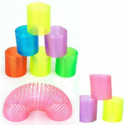 6 Mini Magic Springs - Slinky Pinata Toy Loot/Party Bag Fillers Wedding/Kids