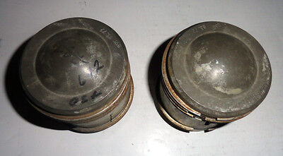 Pair of NOS Mahle Pistons for Jaguar w/ 3.4 engine.  +.030