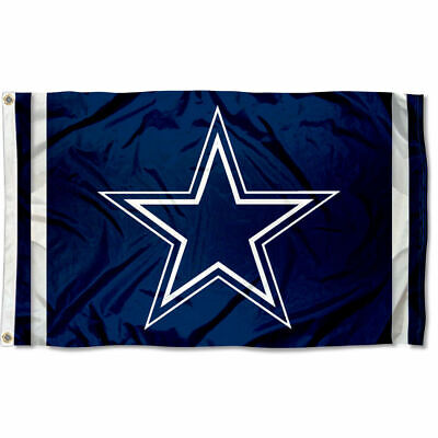 Dallas Cowboys Large Outdoor NFL 3 x 5 Banner Flag