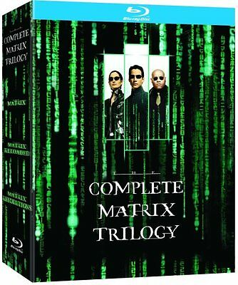 The Complete Matrix Trilogy Reloaded Revolutions 1 2 3 BLU RAY Region Free New
