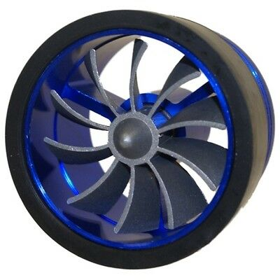 Blue Air Filter/intake Supercharger/turbo Fan - Car Fuel Saver - Increase Mpg