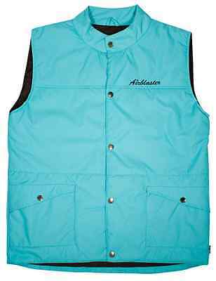 2013 NWOT AIRBLASTER PUFFY VEST L TURQUOISE $90 technical layering