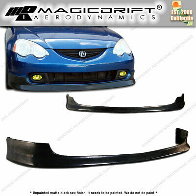 For 02-04 Acura RSX DC5 Type R ITR TR Style Poly Urethane Bumper Front Lip