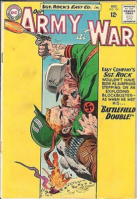 Our Army at War #135 October 1963  DC VG 4.0