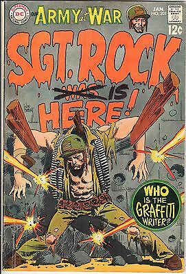 Our Army at War #201 January 1969  DC VG/FN 5.0
