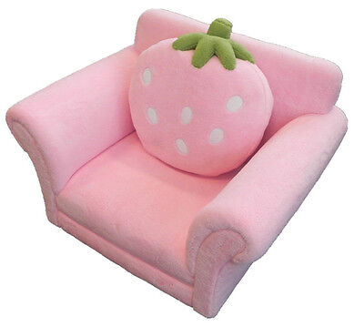 Pink Strawberry Single Seat Sofa Chair/Couch with cushion FREE POST TO SYDNEY