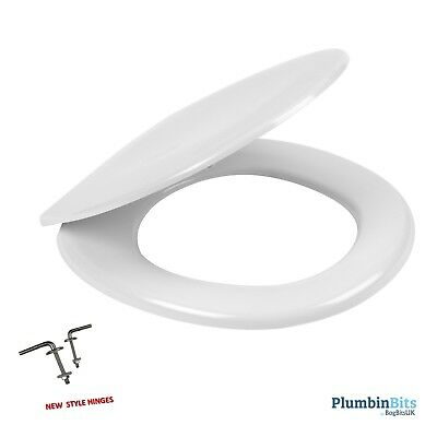 Roca Laura 8013U0004 White Replacement Wc Toilet Seat & Cover Standard Hinges