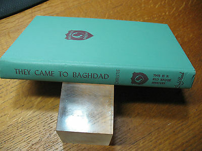 They  Came   To  Bagdad -Agatha  Christie Mallowan  1951  Excellent