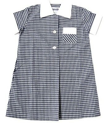 School Gingham Check Dress $17.95 Slashed To $10.00 Cf5/9000