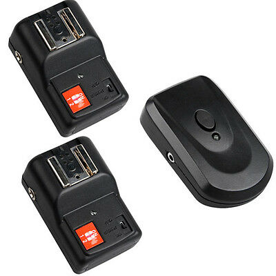 New PT-04 GY 4 Channels Wireless/Radio Flash Trigger with 2 receivers