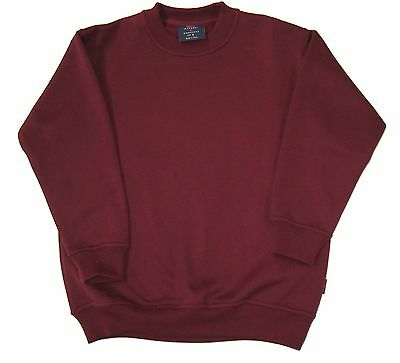Aust Made Crew Neck Double Stitch Fleece Top. $15.95 Slashed To $5.00 Swt936