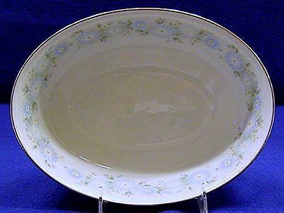 Noritake Fine China OVAL VEGETABLE BOWL Blue Charm Pattern #6978