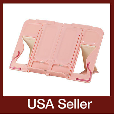 mySmartStand-Pink / Portable book stand holder / Palm-sized book stands holders