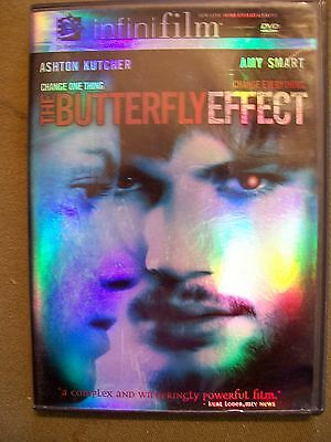 THE BUTTERFLY EFFECT DVD 2004
