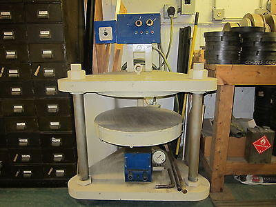 """24"""" Rubber Mold Metal Casting Equipment full system cast large parts - PRISTINE!"""
