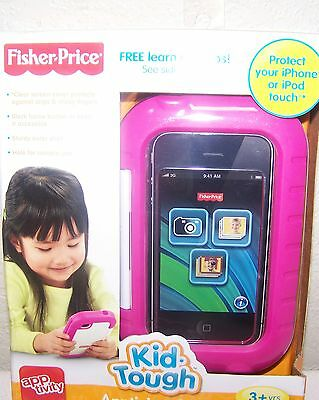 Fisher Price Kid Tough Apptivity Case Pink New