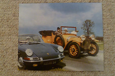 1966 Porsche 911 / 912 Coupe Showroom Advertising Poster RARE!! Awesome L@@K