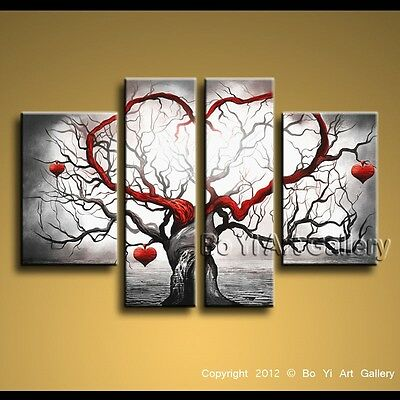 Modern Contemporary Abstract Oil Painting Wall Art Work Home Decor Canvas BoYi