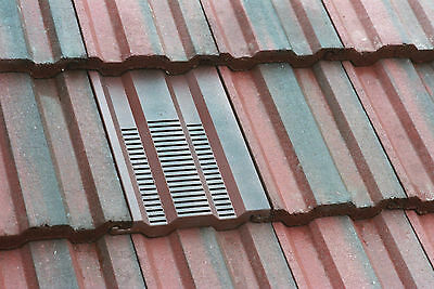 15x9 Roof Tile Vent To Fit Marley Ludlow Plus, Redland 49, Forticrete V2