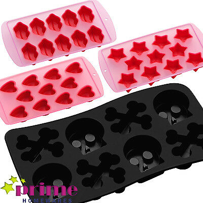 Silicon Non Stick Ice Cube trays Chocolate Jelly Sweet Candy Maker Moulds Trays