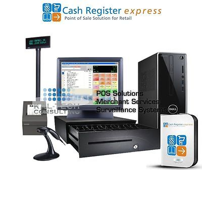 Dell pcAmerica CRE Cash Register Express POS - Retail Version FREE SUPPORT