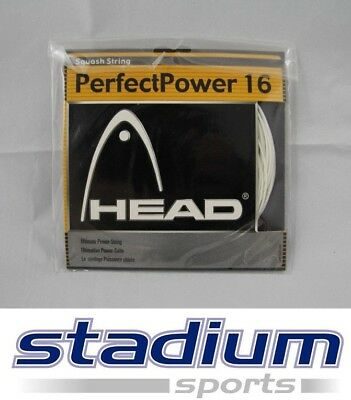 3 Sets x Head Squash String - PerfectPower 16 - Ultimate Power String