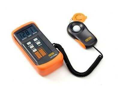 Digital Illuminance Light Meter 200,000 Lux Photometer Luxmeter Precise Overrang