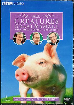 All Creatures Great & Small: The Complete Series 7 (NEW DVD, 2007, 4-Disc Set)