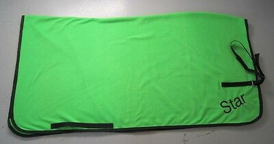Horse Exercise or Quarter sheet FREE EMBROIDERY Choose your size LIME GREEN