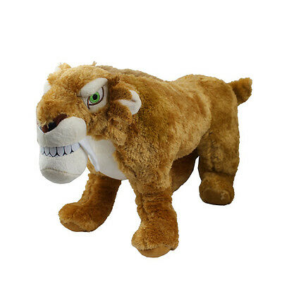 Hot ! Ice Age 22cm Diego Authentic Soft Plush Doll Toy