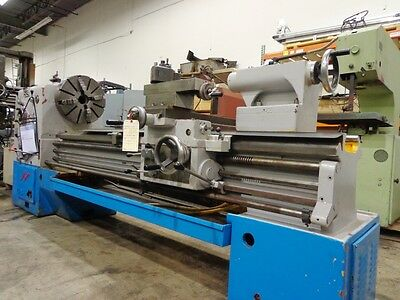 "Engine Lathe Gap Bed 30"" x 80"" Giana Model 3280"