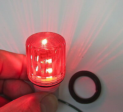 Beacon LED light - Red Flashing Blinking Compact