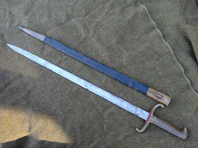 Imperial German 1871 Walking Out Dress Bayonet w/ ETCHED BLADE!! WKC Maker!!