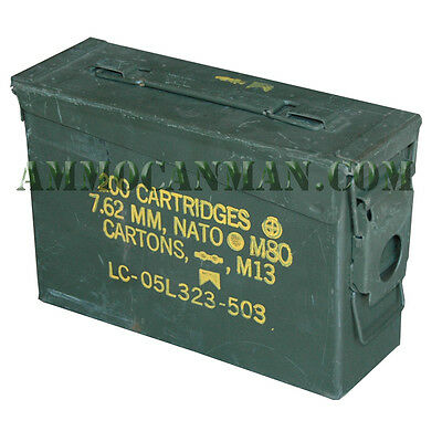 Grade 1 30 cal ammo can Best on eBay!