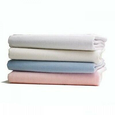 Brushed Cotton Flannelette Fitted Sheet 30cm Deep 7 colours available