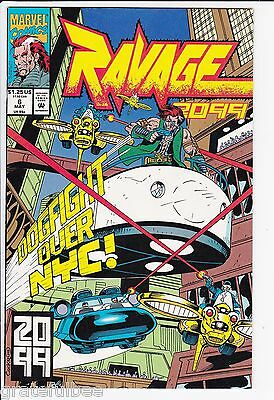 Lot of 2 - Ravage 2099 #6 & #8 - Marvel Comics - May & July 1993 - Very Fine