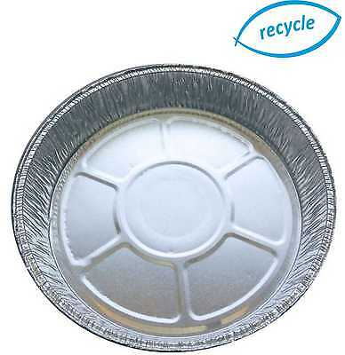 "6"" Individual Round Foil Flan Dishes Quiche Pie Aluminium Trays For Baking"